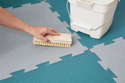 How to Clean and Care for Rubber Floor Tiles The Spruce