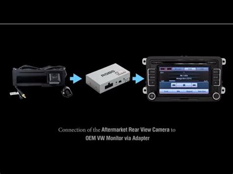 wireless rear view camera wiring diagram images rear backup how to connect aftermarket rear view camera to vw oem