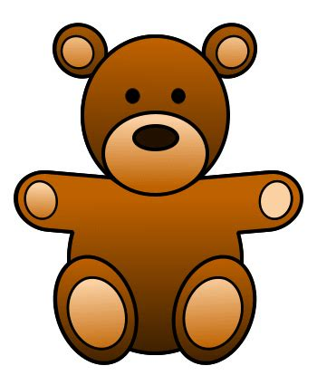 How to Draw A Teddy Bear How to Draw Funny Cartoons