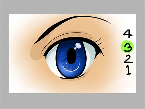 How to Draw Anime Eyes on the Computer with Pictures