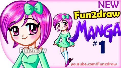 How to Draw Anime Manga Easy NEW Fun2draw Manga 1