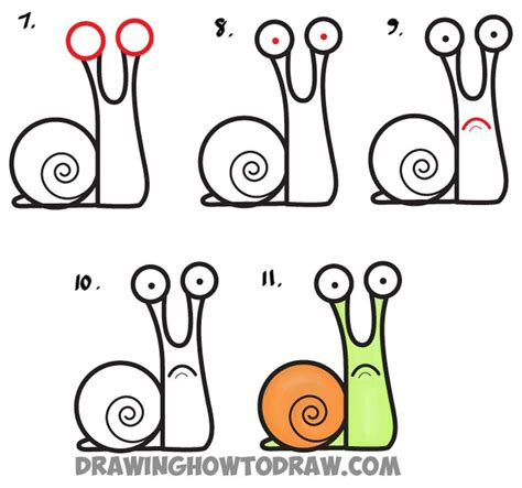 How to Draw Cartoon Animals Easy Step by Step Drawing