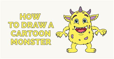 How to Draw Cartoon Monsters