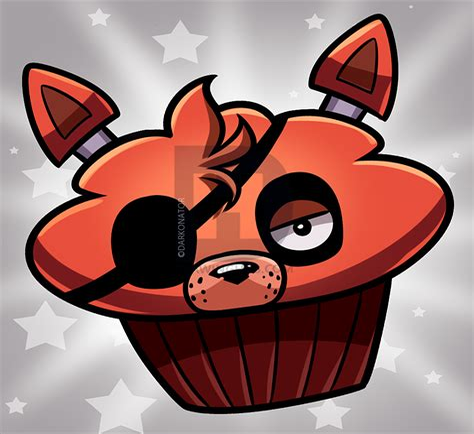 How to Draw Cupcake Mangle by Darkonator DrawingHub