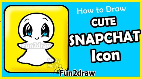 How to Draw Cute Snapchat Logo Step by Step Fun Facts