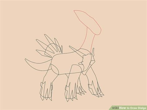 How to Draw Dialga 13 Steps with Pictures wikiHow