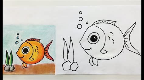 How to Draw Fish How to Draw for Kids How to Draw Step
