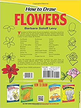 How to Draw Flowers Dover How to Draw Barbara Soloff