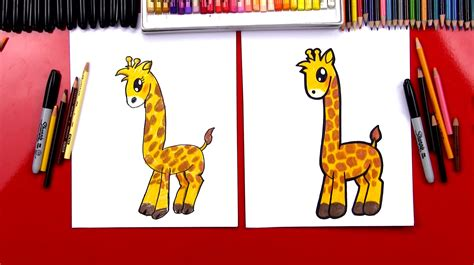 How to Draw Giraffe How to Draw for Kids How to Draw