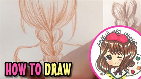 How to Draw Hair Braids YouTube