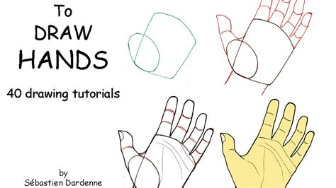 How to Draw Hands A Tutorial with Two Approaches