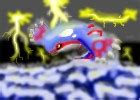 How to Draw Kyogre DragonFang DrawingNow