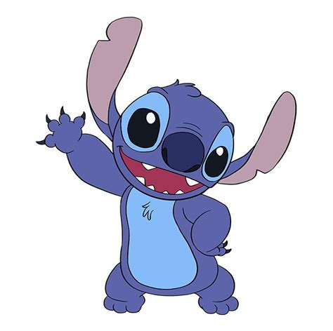 How to Draw Lilo and Stitch Cartoon Characters Drawing