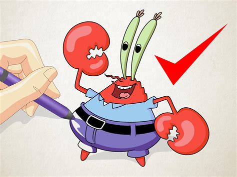 How to Draw Mr Krabs from Spongebob Squarepants