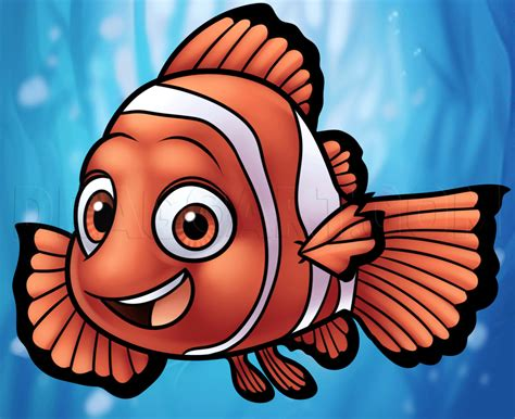 How to Draw Nemo from Finding Nemo Dragoart