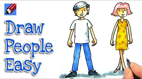 How to Draw People Drawing a Person Easy