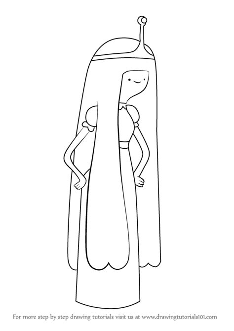How to Draw Princess Bubblegum Easy Drawing Tutorials