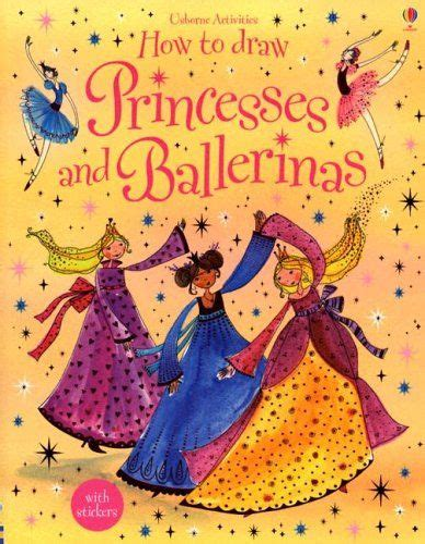 How to Draw Princesses and Ballerinas Usborne Activities amazon