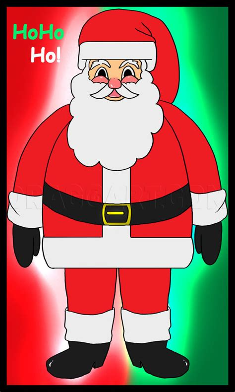 How to Draw Santa Clause Santa Santa Claus Saint Nick