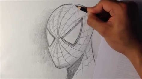How to Draw Spider man in Fine Art Style Easy Drawings