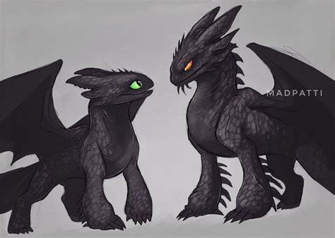 How to Draw Toothless Night Fury Dragon from How to Train