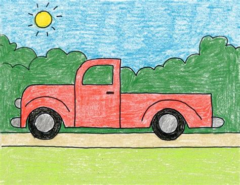 How to Draw Trucks and Vehicles Drawing Tutorials