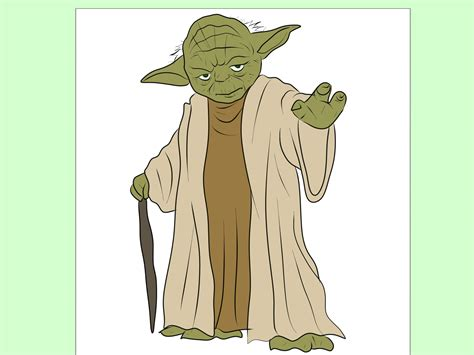 How to Draw Yoda from Star Wars 7 Steps with Pictures