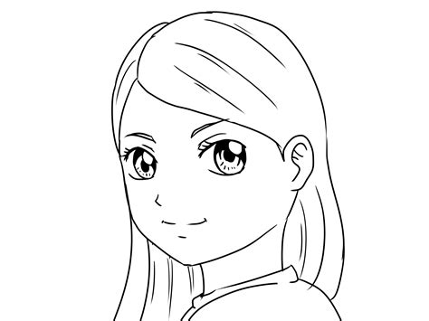 How to Draw Yourself As a Manga Girl Boy 12 Steps with