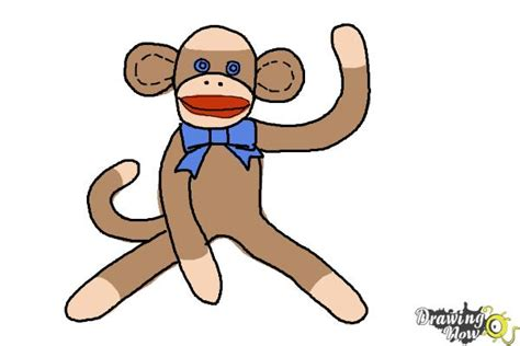 How to Draw a Baboon DrawingNow