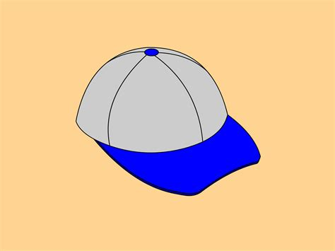 How to Draw a Baseball Cap 10 Steps with Pictures