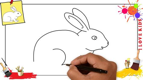 How to Draw a Bunny Draw Animals Easy Drawings