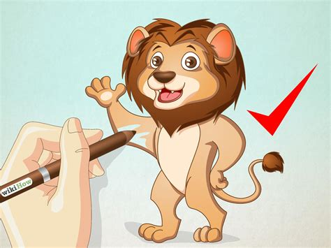 How to Draw a Cartoon Lion 13 Steps with Pictures wikiHow
