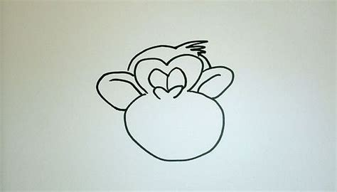 How to Draw a Cartoon Monkey Step by Step Our Pastimes
