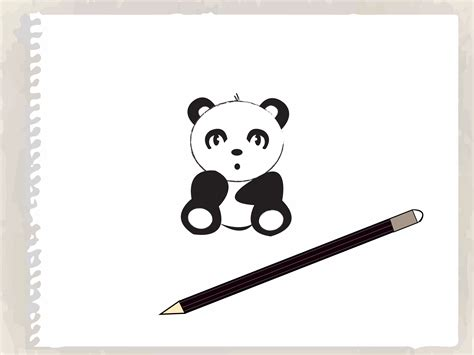How to Draw a Cartoon Panda 8 Steps with Pictures wikiHow