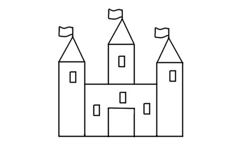 How to Draw a Castle Step by Step V deo Dailymotion