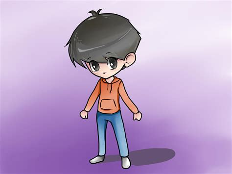 How to Draw a Chibi Boy with Pictures wikiHow