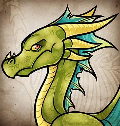 How to Draw a Dragon Easy Pictures to Draw