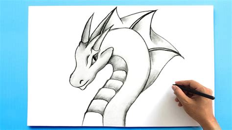 How to Draw a Dragon Step By Step Narrated YouTube