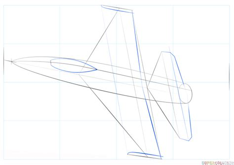How to Draw a Fighter Jet by Darkonator DrawingHub