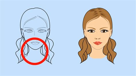 How to Draw a Girl s Face 8 Steps with Pictures wikiHow