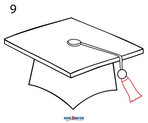 How to Draw a Graduation Cap 5 Steps with Pictures
