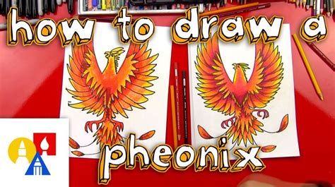How to Draw a Phoenix DrawingNow