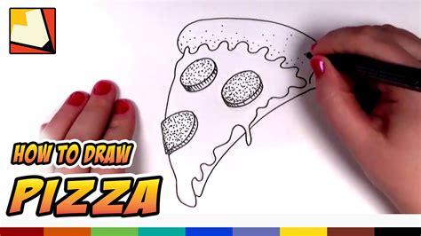 How to Draw a Pizza Slice kemi911 DrawingNow