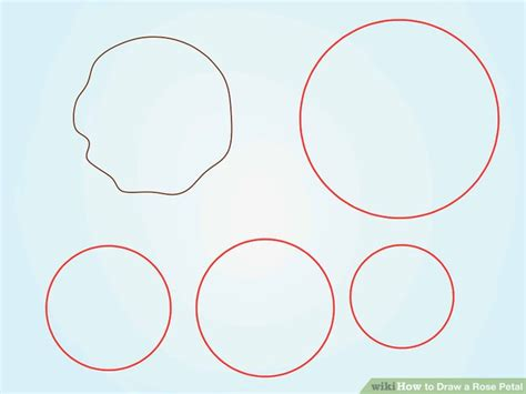 How to Draw a Rose Petal 6 Steps with Pictures wikiHow