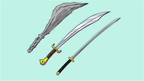How to Draw a Sword 12 Steps with Pictures wikiHow