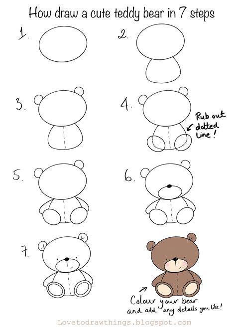 How to Draw a Teddy Bear DrawingTeachers