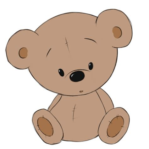How to Draw a Teddy Bear how to draw cartoons online