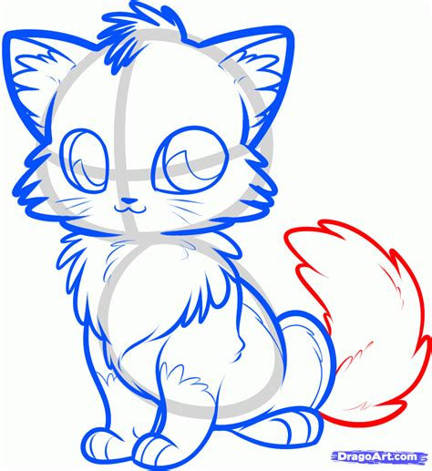 How to Draw an Anime Fox Step by Step anime animals
