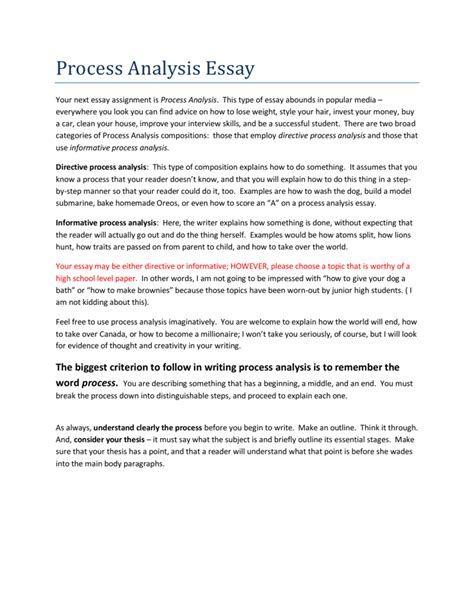 How to Essay Topics Process Essay About Education