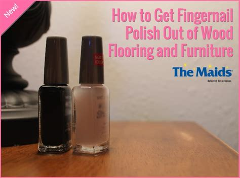 How to Get Fingernail Polish Out of Wood Flooring and